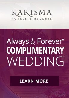 complimentary wedding package