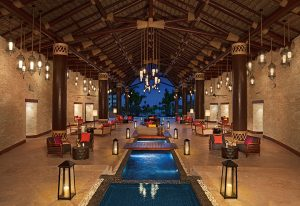 Lobby at Secrets Cap Cana