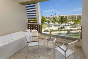 NOW Onyx Punta Cana Resort Jr Suite Partial Ocean View Terrace